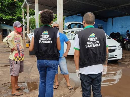 Vigilância Sanitária faz balanço positivo do lockdown parcial em Piripiri