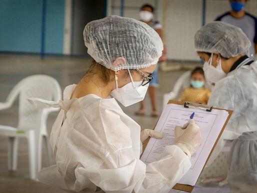 Testagem em Massa | Sesam, através do Busca Ativa, faz testagem para COVID-19.