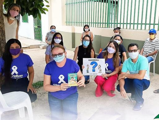 JANEIRO ROXO: Mês de Conscientização da Hanseníase