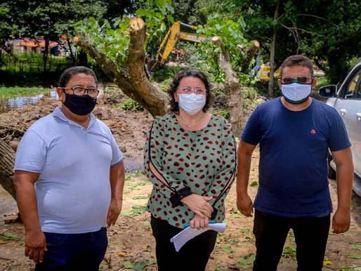 SEMAD faz operação de limpeza na barragem do Horto Florestal e ponte do Biano
