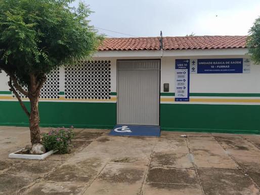 Prefeitura de Piripiri reforma UBSF de Furnas