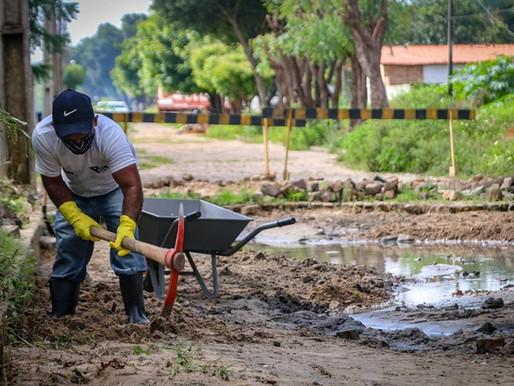 SEDESP inicia Operação Tapa-Buraco em ruas e avenidas de Piripiri