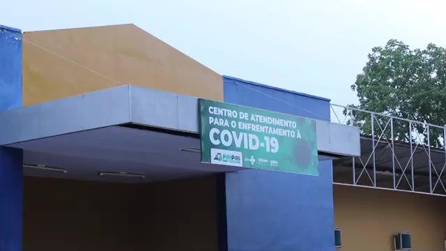 Conheça o novo Centro Covid de Piripiri
