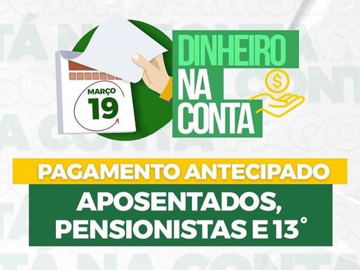 Dinnheiro na conta | IPMPI - Instituto de Previdência Municipal de Piripiri