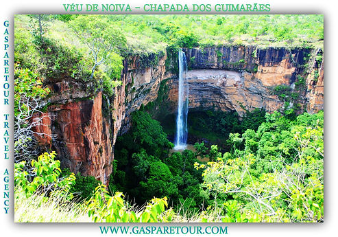 veu de noiva waterfall cachoeira chapada dos guimarães