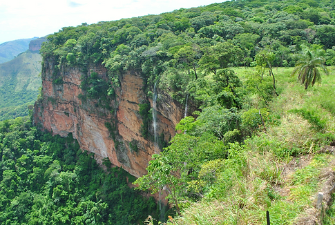 Chapada dos Guimaraes Morro dos Ventos Mirante