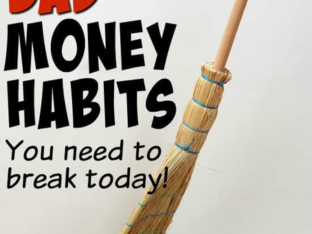10 BAD MONEY HABITS YOU NEED TO BREAK TODAY