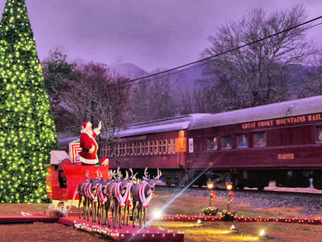 Polar Express Train, Great Smoky Mtns Railroad