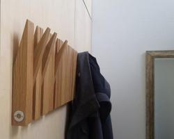 Recycled Oak Coat Panel