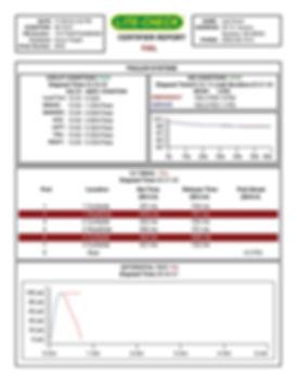 failing certifier report