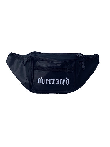 LOGO BELT BAG - BLACK
