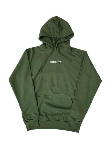 ESSENTIAL HOODIE - MILITARY GREEN
