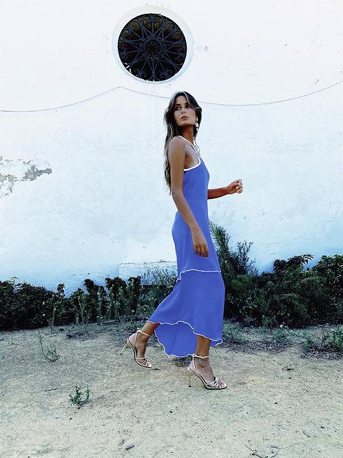 LA FLACA DRESS • Night Blue
