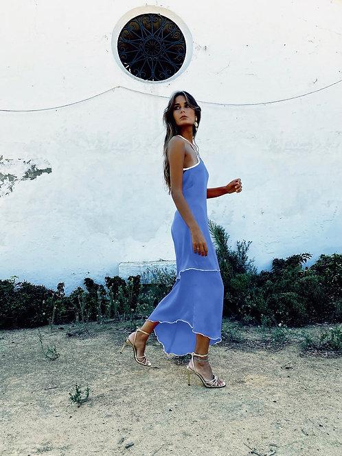 LA FLACA DRESS • Night Blue Version
