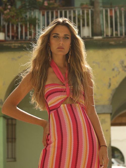 MILAGRITOS dress • Pink Stripes version