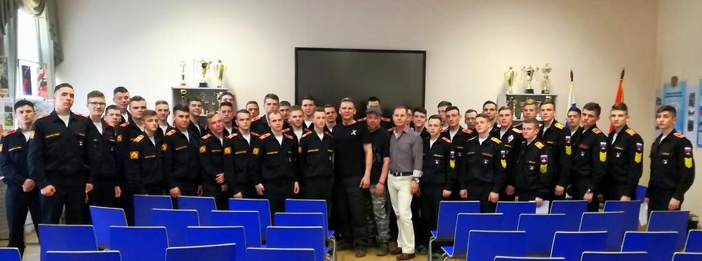Встреча кадетов 5-й роды Суворовского училища
