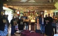 В храме Святого Цесаревича Алексия