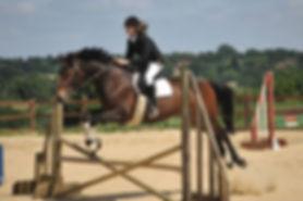 Show jumping at FMEC - horses riding