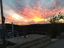 777 Zipline at sunset