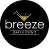 Breeze Bar & Events NO White Logo CIRCLE