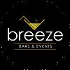 Breeze Bar & Events NO White Logo CIRCLE