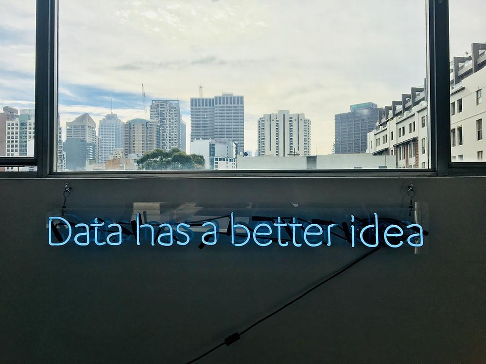 Data is always a better idea.