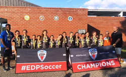 The 05 Girls are EDP Summer Champs!