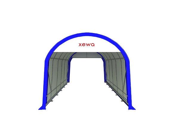 Plachtový přístřešek model G10-10-20  rozměry (š*d*v) 3 * 6 * 3 m