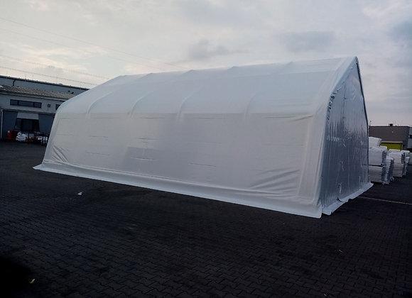 2 Plachtová hala - model A20  rozměry š 6.1 * v 3.76 m