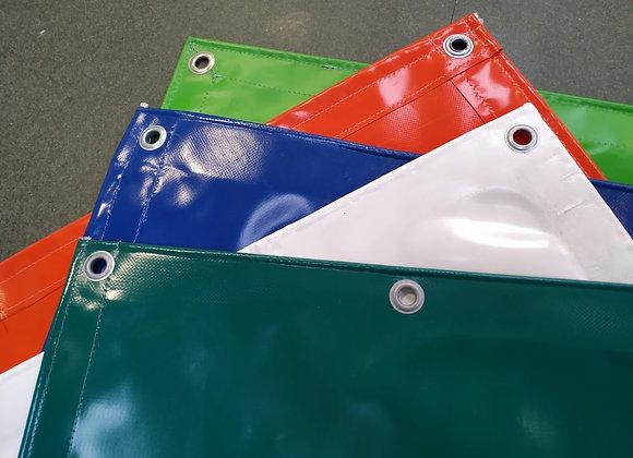 Zakrývací plachta PVC 650g/m2 - 6 x 12 m