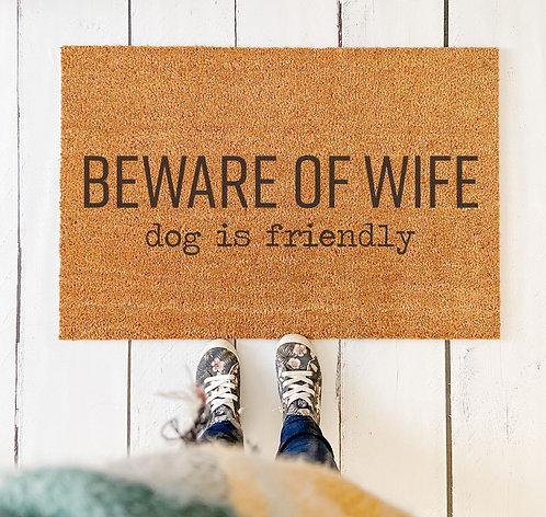 Beware Of Wife Doormat