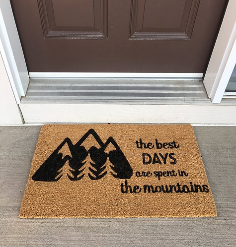 Best days doormat