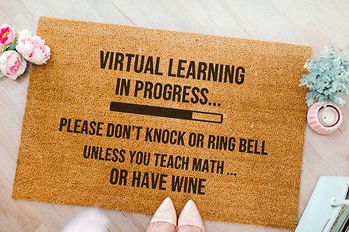 Virtual Learning Doormat