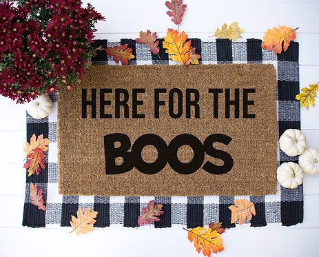 Here for the BOOS Doormat