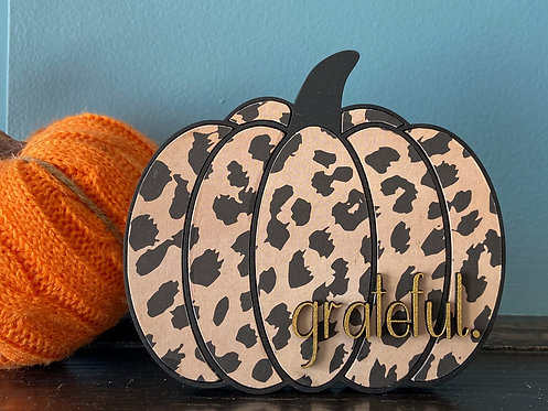 Leopard Pumpkin (Small)