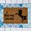 Thumbnail: A unicorn lives here doormat