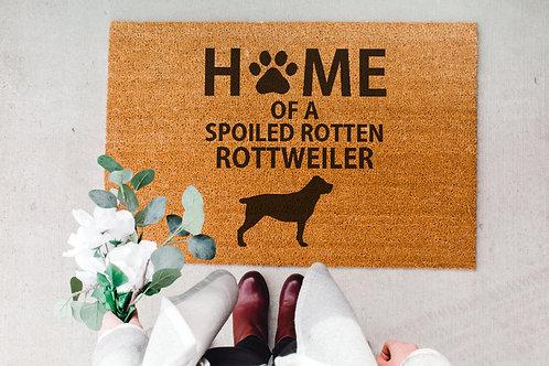 Rottweiler Doormat