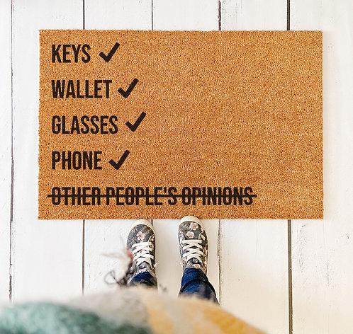 Checklist V2.0 Doormat