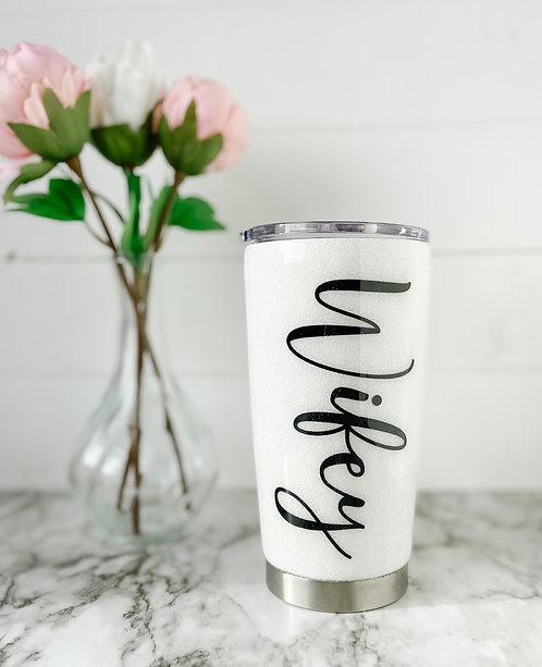 20oz Wifey Traditional Coffee Tumbler