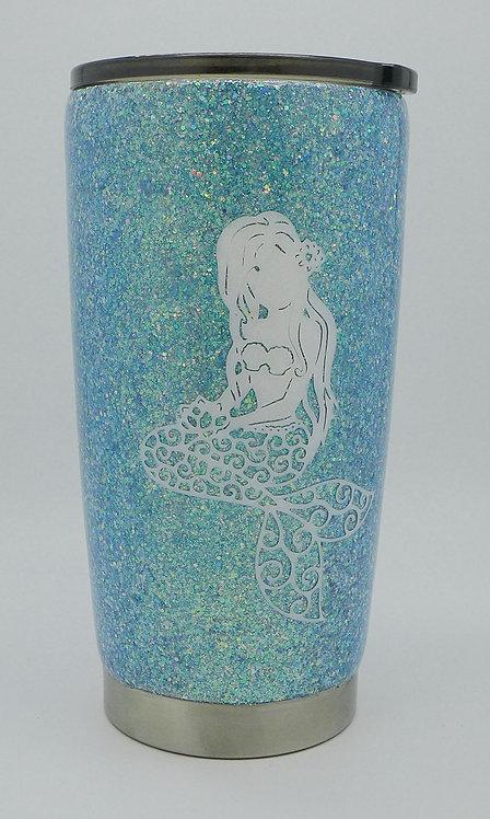 20oz Mermaid Mom Coffee Tumbler