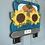 Thumbnail: Fall Truck w/ Sunflowers & Pumpkin Door Hanger