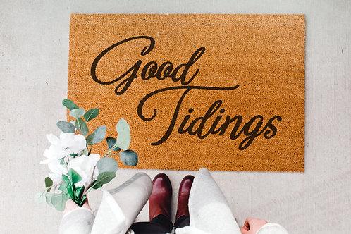 Good Tidings Doormat