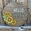 Thumbnail: Hello Sunshine Sunflower Sign
