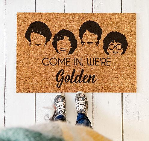 Golden Girls Doormat