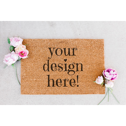 Custom Design Doormat