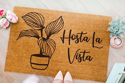 Hosta La Vista Doormat