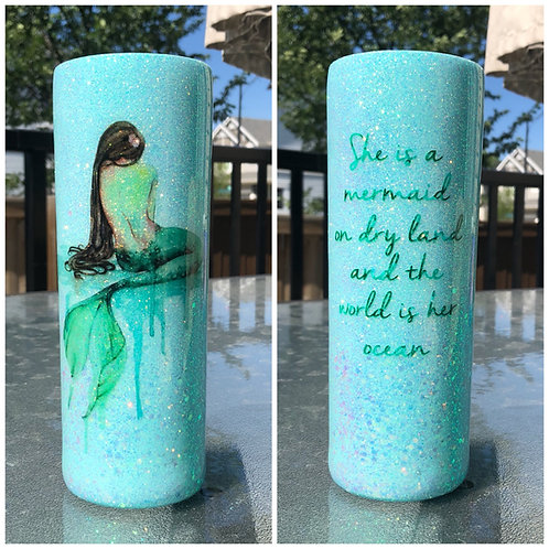 Mermaid 20oz Tumbler