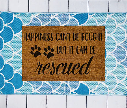 Happiness Can't Be Bought Doormat