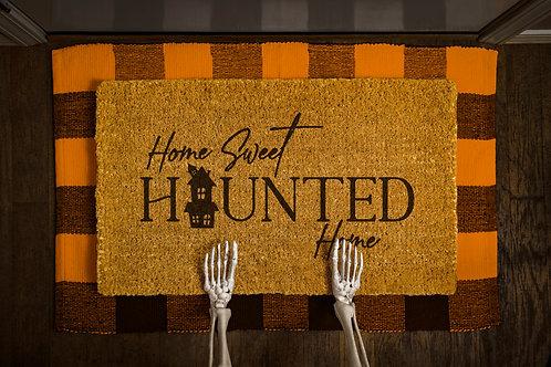 Home Sweet Haunted Home Doormat