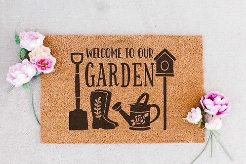 Welcome to our Garden Doormat